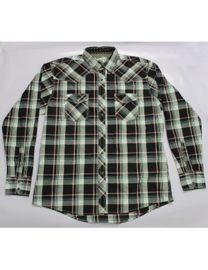 STOCK WHOLESALE MEN LONG SLEEVE SHIRT