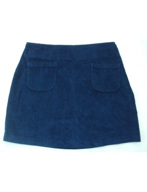 STOCK WHOLESALE LADIES 2 POCKET CORDUROY SKIRT