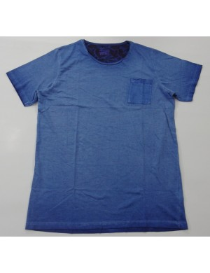 STOCK WHOLESALE MEN OIL WASHED T - SHIRT