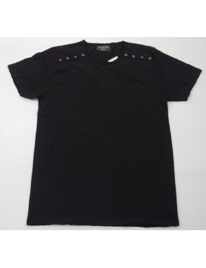 STOCK WHOLESALE MEN'S SHORT SLEEVE FASHION T - SHIRT
