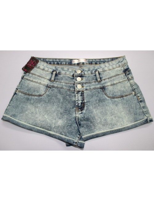 STOCK WHOLESALE LADIES DENIM SHORT PANT